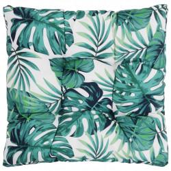 Sonata Градинска възглавница за сядане, листа, 50x50x10 см, текстил - Мека мебел