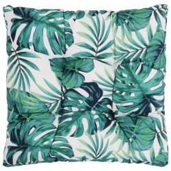 Sonata Градинска възглавница за сядане, листа, 60x60x10 см, текстил - Мека мебел