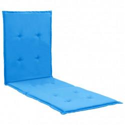 Sonata Шалте за шезлонг, синьо, 180x55x3 см - Шезлонги
