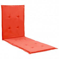 Sonata Шалте за шезлонг, червено, 180x55x3 см - Шезлонги