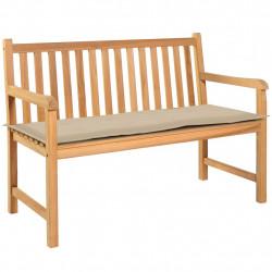 Sonata Възглавница за градинска пейка, бежова, 150x50х3 см - Градински Дивани и Пейки