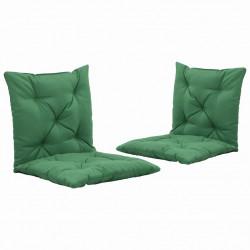 Sonata Възглавници за градинска люлка, 2 бр, зелени, 50 см - Градински Дивани и Пейки