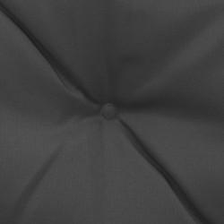 Sonata Възглавници за градинска люлка, 2 бр, антрацит, 50 см, текстил - Градински Дивани и Пейки
