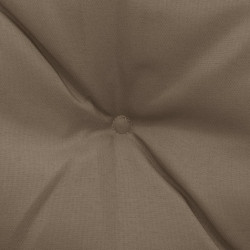 Sonata Възглавници за градинска люлка, 2 бр, таупе, 50 см, текстил - Градински Дивани и Пейки