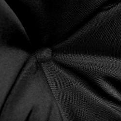 Sonata Възглавница за градинска люлка, черно и сиво, 120 см, текстил - Градински Дивани и Пейки
