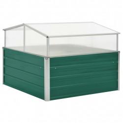 Sonata Парник, зелен, 100x100x77 см, поцинкована стомана - Оранжерии и Парници