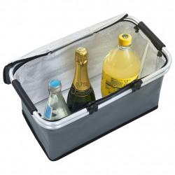 Sonata Сгъваема хладилна чанта, сива, 46x27x23 см, алуминий - Аксесоари за пътуване