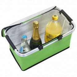Sonata Сгъваема хладилна чанта, зелена, 46x27x23 см, алуминий - Аксесоари за пътуване