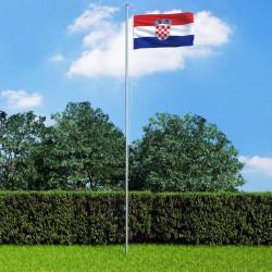 Sonata Флаг на Хърватия, 90x150 см - Сувенири, Подаръци, Свещи