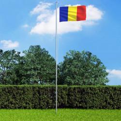 Sonata Флаг на Румъния, 90x150 см - Сувенири, Подаръци, Свещи
