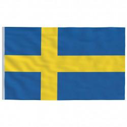 Sonata Флаг на Швеция, 90x150 см - Сувенири, Подаръци, Свещи
