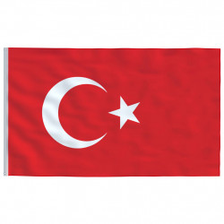 Sonata Флаг на Турция, 90x150 см - Сувенири, Подаръци, Свещи