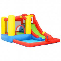 Happy Hop Надуваем батут с пързалка и басейн, 350x280x190 см, PVC - Сравняване на продукти