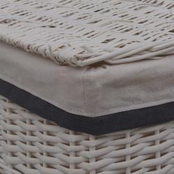 Sonata Кош за пране, бял, върба - Перални