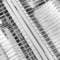 Sonata Преносим настолен грил на дървени въглища инокс двойна решетка - Камини, Комини и Печки на дърва
