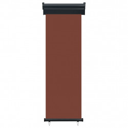 Sonata Вертикална тента за балкон, 60x250 см, кафява - Сенници и Чадъри