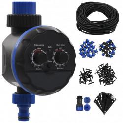 Sonata Комплект за автоматично капково напояване с таймер, 142 части - Поливане, Напояване