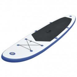 Sonata Стендъп падъл борд SUP сърфборд, надуваем, синьо и бяло - Водни спортове