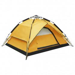 Sonata Pop up палатка за къмпинг 2-3-местна 240x210x140 см жълта - Палатки