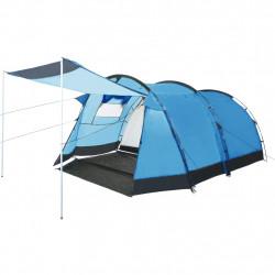 Sonata Тунелна палатка за къмпинг, 4-местна, синя - Палатки