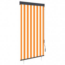 Sonata Външна ролетна щора, 80x250 см, бяло и оранжево - Щори