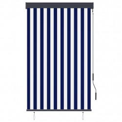 Sonata Външна ролетна щора, 100x250 см, синьо и бяло - Щори