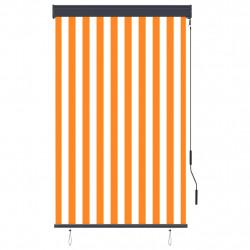 Sonata Външна ролетна щора, 100x250 см, бяло и оранжево - Щори