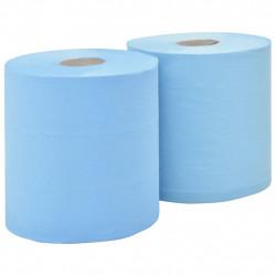 Sonata 2-пластова индустриална хартия за почистване 2 ролки 20 см синя - Индустриално оборудване