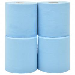 Sonata 2-пластова индустриална хартия за почистване 4 ролки 20 см синя - Индустриално оборудване