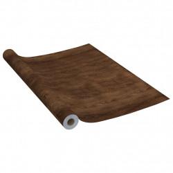 Sonata Самозалепващо фолио за мебели, тъмен дъб, 500х90 см, PVC - Индустриално оборудване