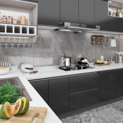 Sonata Самозалепващо фолио за мебели, черно, 500х90 см, PVC - Индустриално оборудване