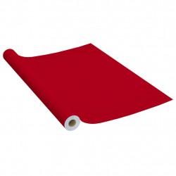 Sonata Самозалепващо фолио за мебели, червено, 500х90 см, PVC - Индустриално оборудване
