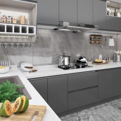 Sonata Самозалепващо фолио за мебели, сиво, 500х90 см, PVC - Индустриално оборудване