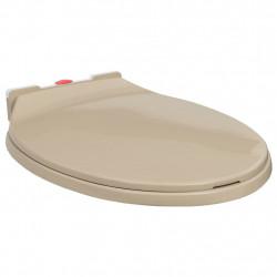 Sonata Тоалетна седалка плавно спускане бързо освобождаване бежова - Продукти за баня и WC