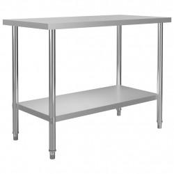 Sonata Кухненска работна маса, 120x60x85 см, неръждаема стомана - Сравняване на продукти