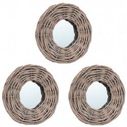 Sonata Огледала, 3 бр, 15 см, ракита - Огледала
