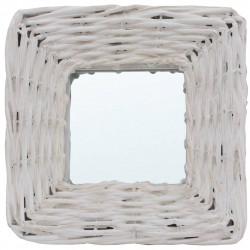 Sonata Огледала, 3 бр, бели, 15x15 см, ракита - Огледала