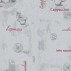 Sonata 2 бр ролки нетъкани тапети, бели, 0,53x10 м, кафе - Индустриално оборудване