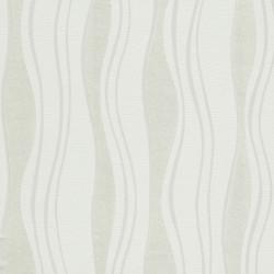 Sonata 2 бр ролки нетъкани тапети, бели, 0,53x10 м, вълни - Индустриално оборудване