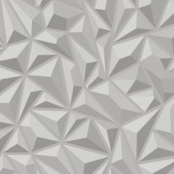 Sonata 2 бр ролки нетъкани тапети, бели, 0,53x10 м, геометрични фигури - Индустриално оборудване