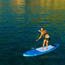 Aqua Marina SUP борд Triton, син, 340x81x15 см - Водни спортове
