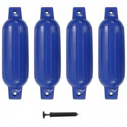 Sonata Фендери за лодка, 4 бр, сини, 41x11,5 см, PVC - За яхти и лодки