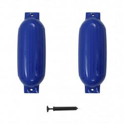 Sonata Фендери за лодка, 2 бр, сини, 69x21,5 см, PVC - За яхти и лодки