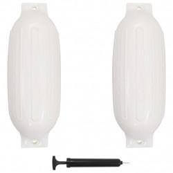 Sonata Фендери за лодка, 2 бр, бели, 69x21,5 см, PVC - За яхти и лодки