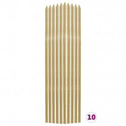 Sonata Колчета за растения, 10 бр, 2,8x2,8x150 см, импрегниран бор - Аксесоари за градината