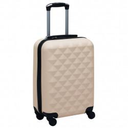 Sonata Твърд куфар с колелца, златист, ABS - Куфари и Чанти