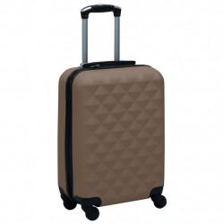 Sonata Твърд куфар с колелца, кафяв, ABS - Куфари и Чанти