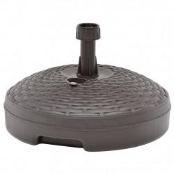 Sonata Основа за чадър, за пясък/вода, 20 л, кафява, пластмаса - Сенници и Чадъри