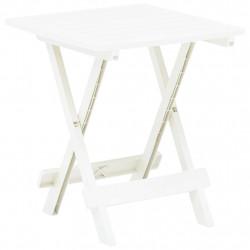 Sonata Сгъваема градинска маса, бяла, 45x43x50 см, пластмаса - Градински маси