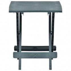 Sonata Сгъваема градинска маса, зелена, 45x43x50 см, пластмаса - Градински маси